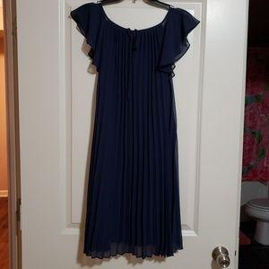Navy blue BCBG dress
